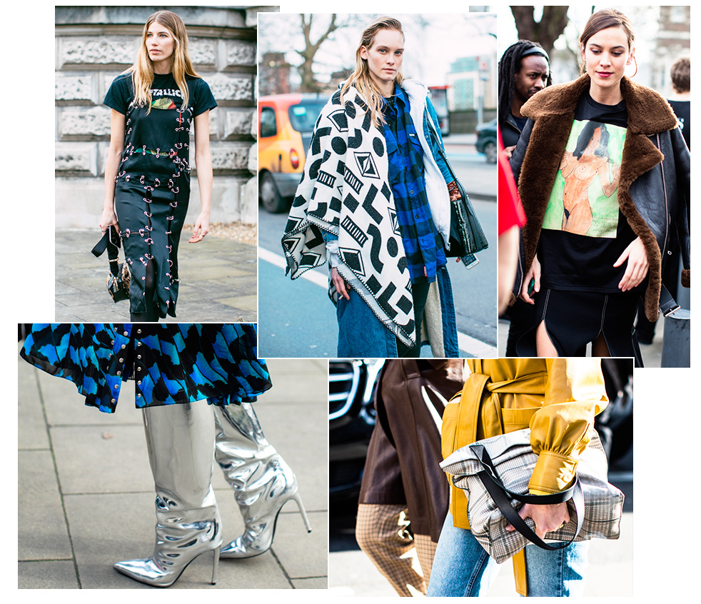 0a8ce6c1a76d See the best looks on the streets of London between shows at London Fashion  Week Fall Winter 2017-2018.